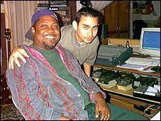 Edgar Peña con Beto Casanova